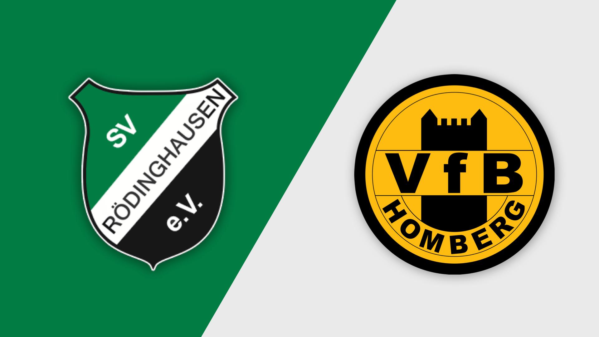 SV Rödinghausen gegen VFB Homberg