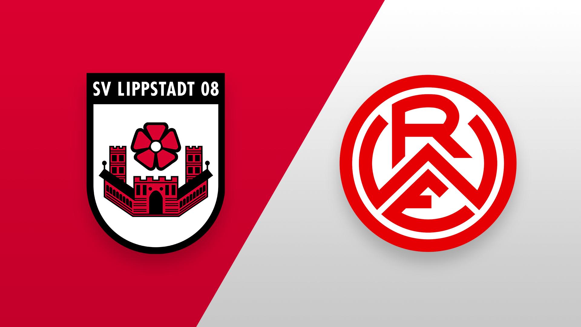 SV Lippstadt 08 gegen Rot-Weiss Essen