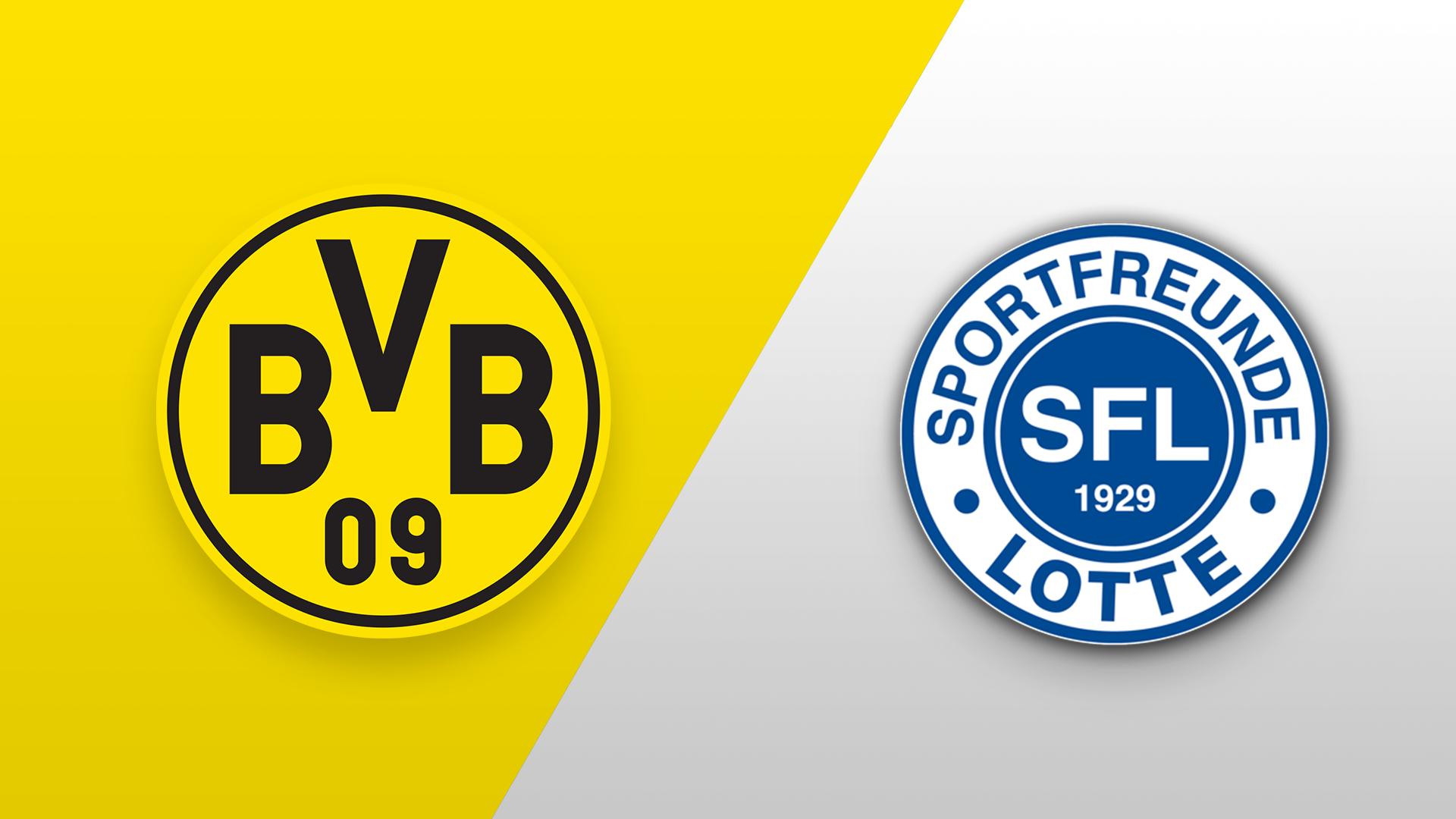 Borussia Dortmund U23 gegen VfL Sportfreunde Lotte