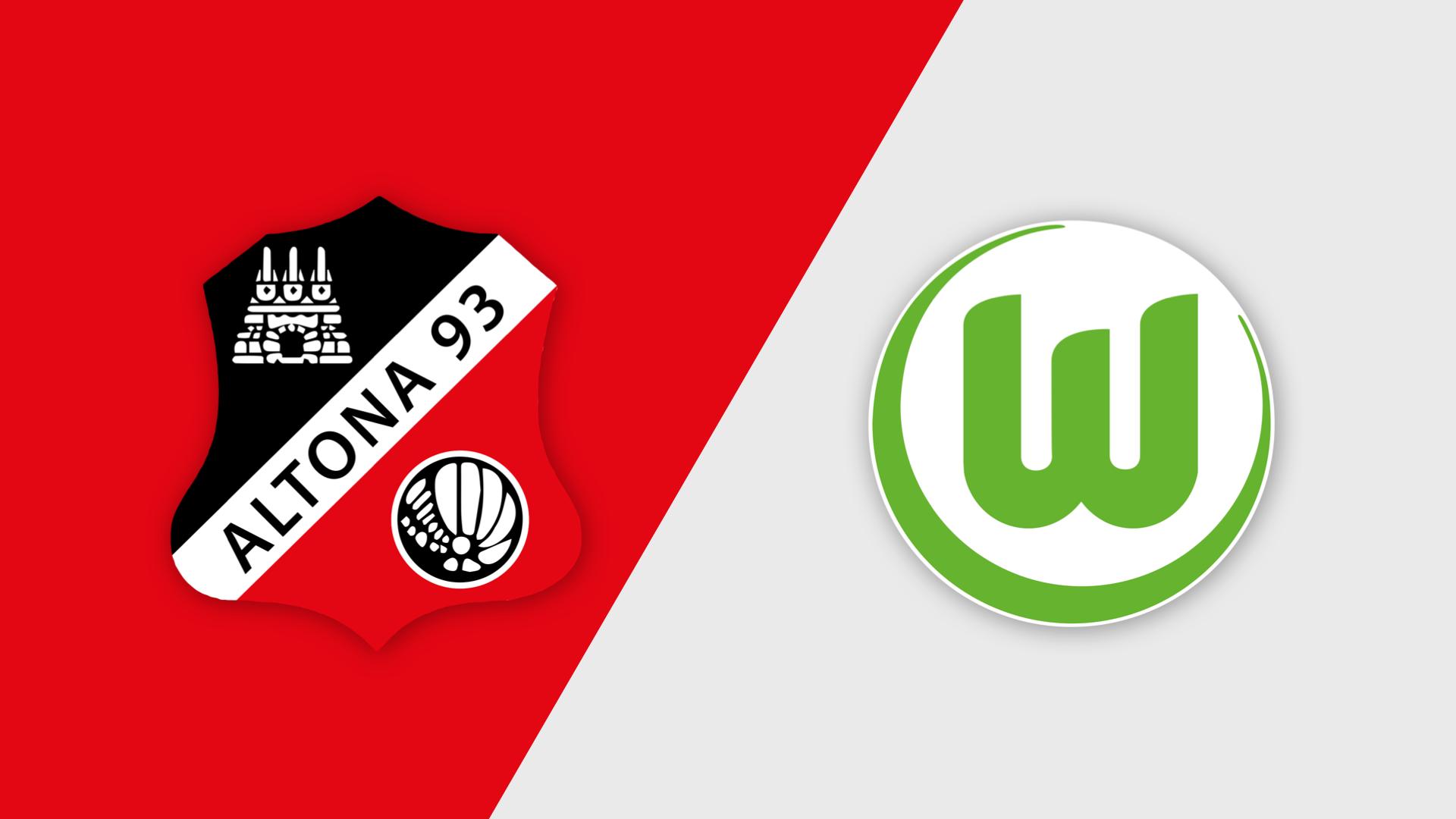 Altona 93 1. gegen VfL Wolfsburg II